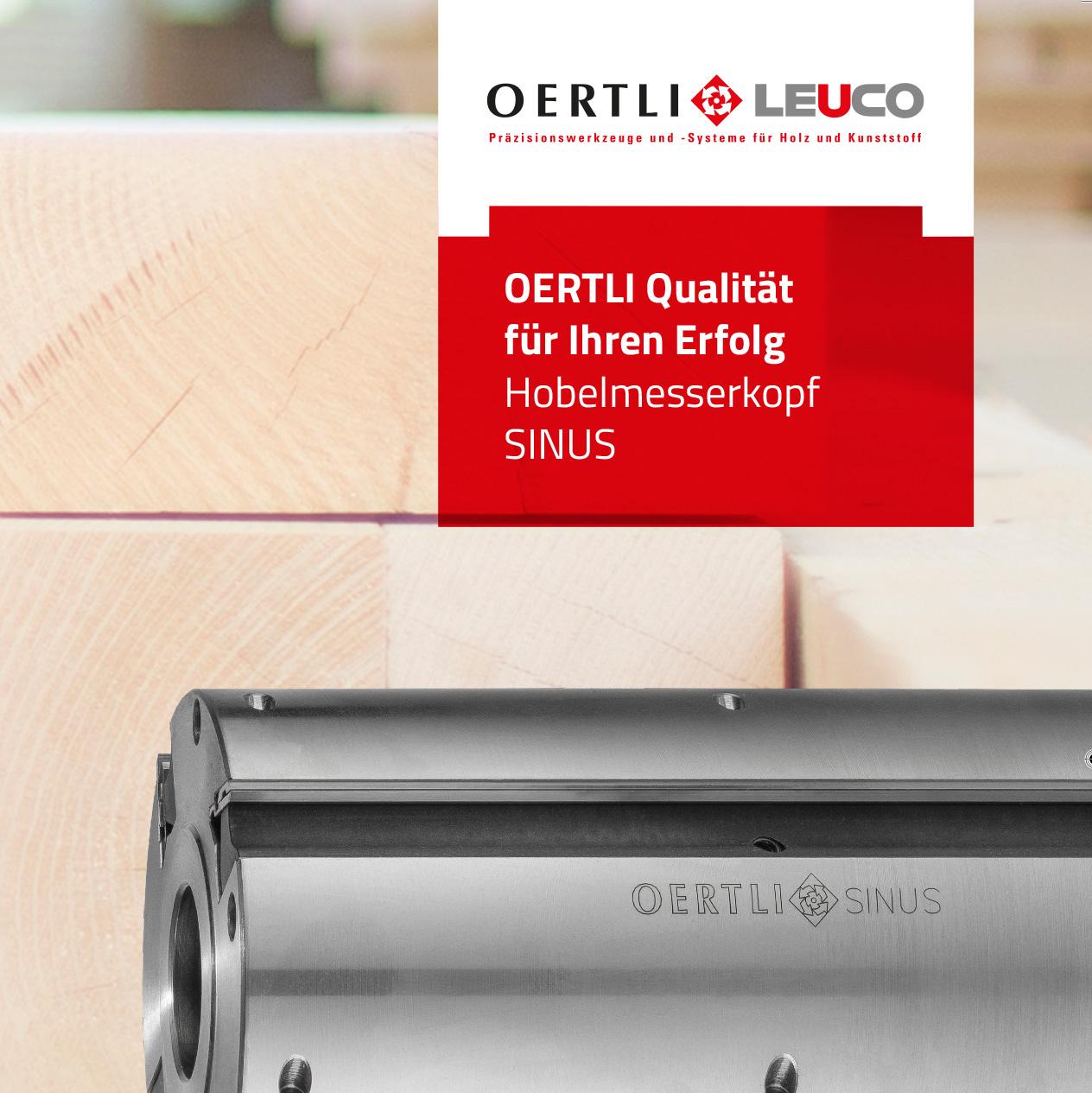 OERTLI Kreissägeblätter - Katalog