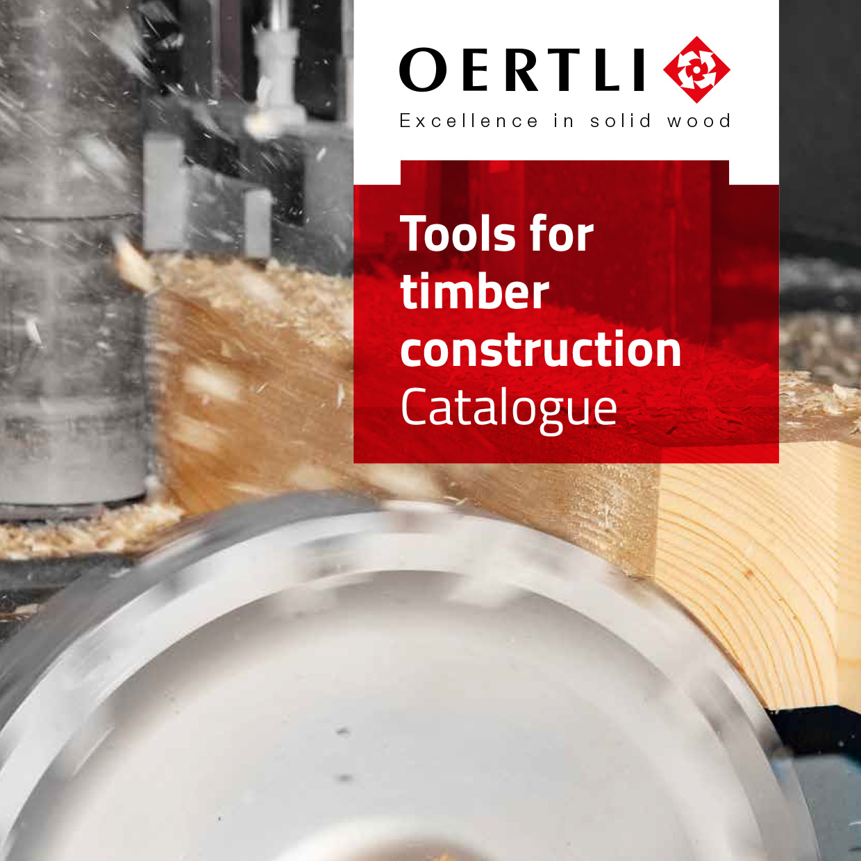 OERTLI tools for professional timber construction